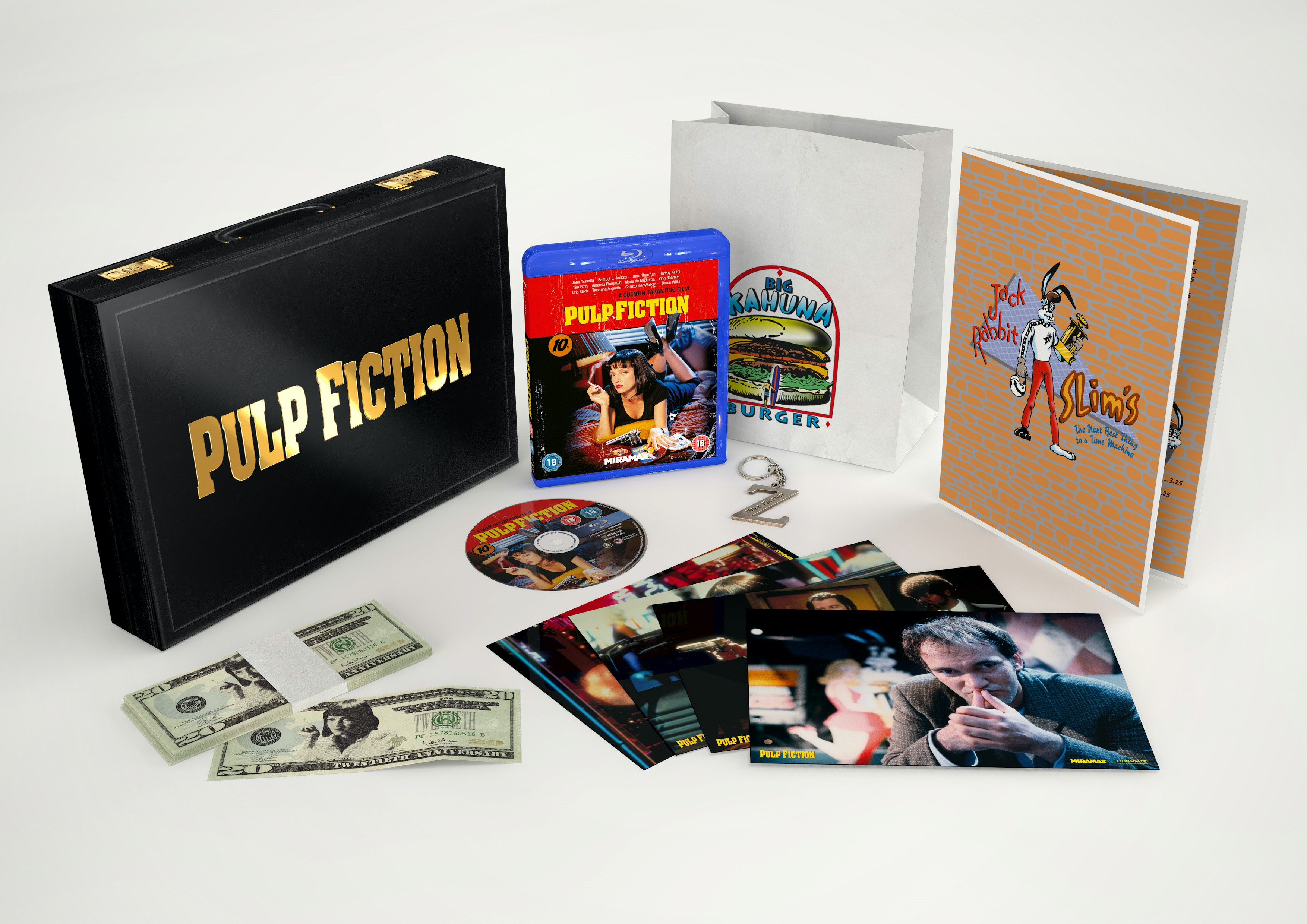 PULP FICTION 20TH ANNIVERSARY COLLECTORS BLURAY BOXSET sweepstakes