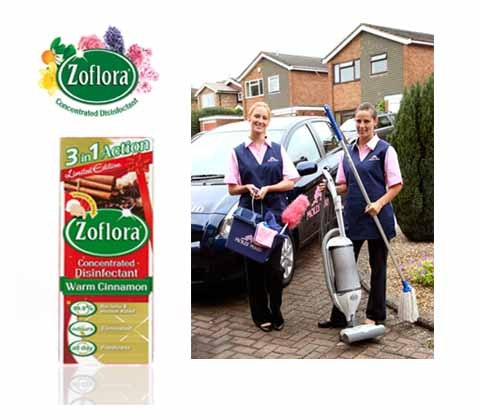 Win 2 x Winter home cleans & Zoflora goodie bag sweepstakes