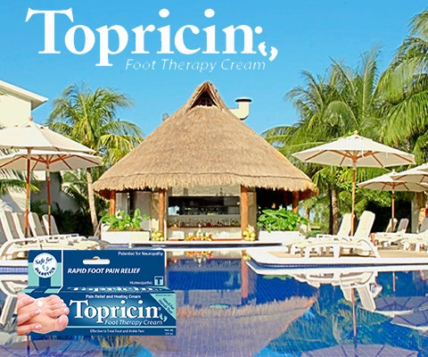 Cancun Getaway from Topricin sweepstakes