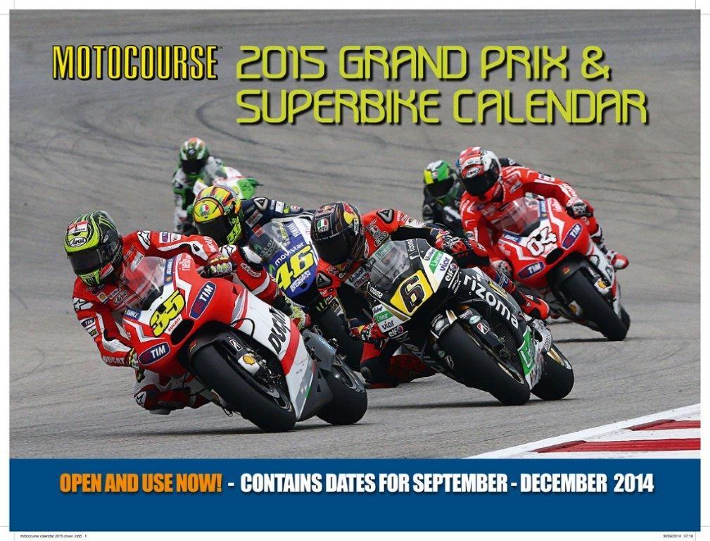 Motocourse calendar sweepstakes