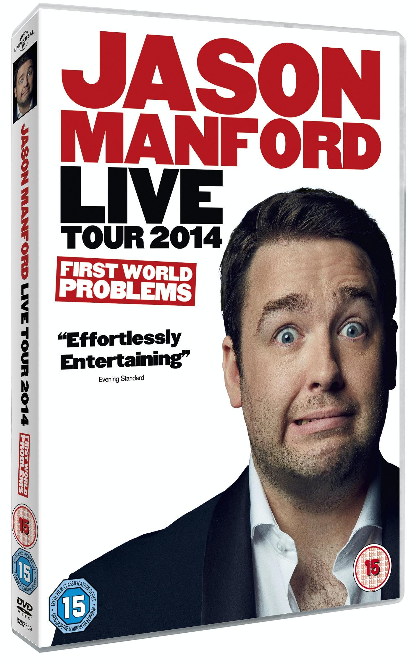 Jason Manford sweepstakes