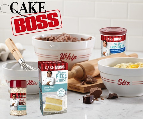 $275 Cake Boss Baking Bundle sweepstakes