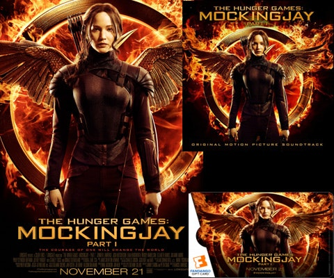 Mockingjay Prize Pack sweepstakes