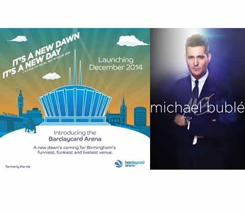 Win a pair of Michael Bublé tickets  sweepstakes