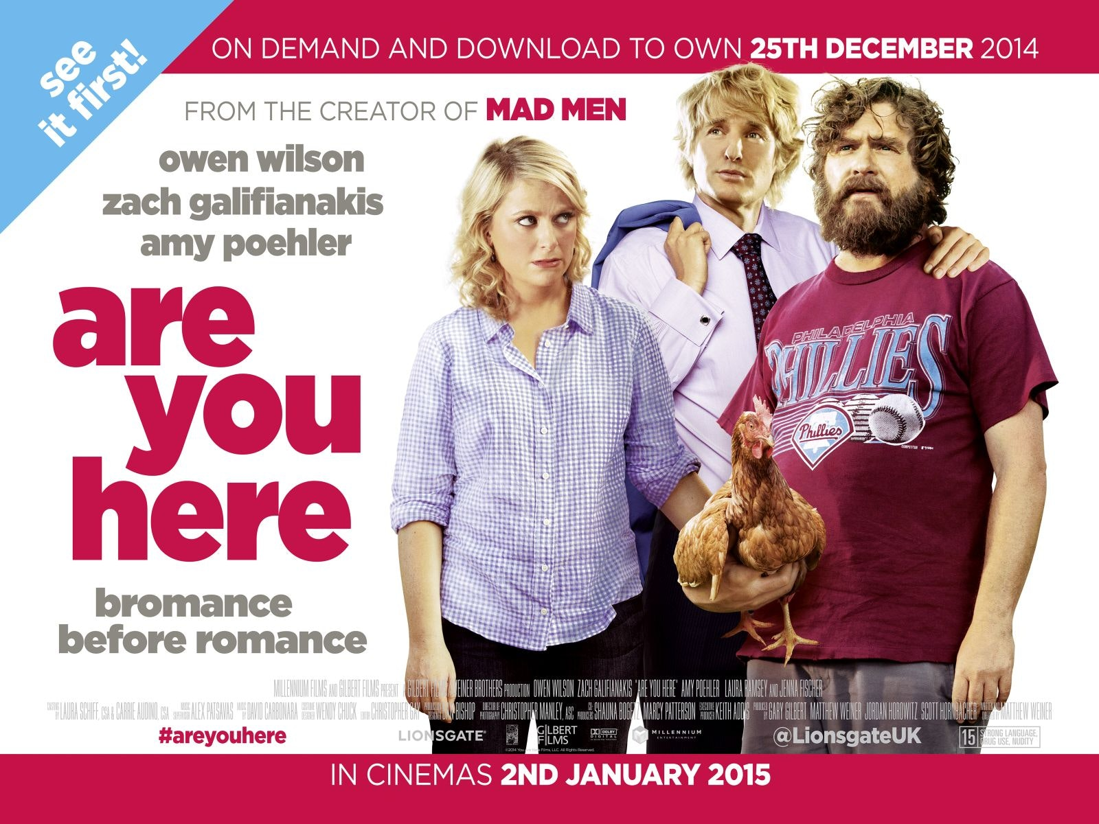 Are You Here sweepstakes