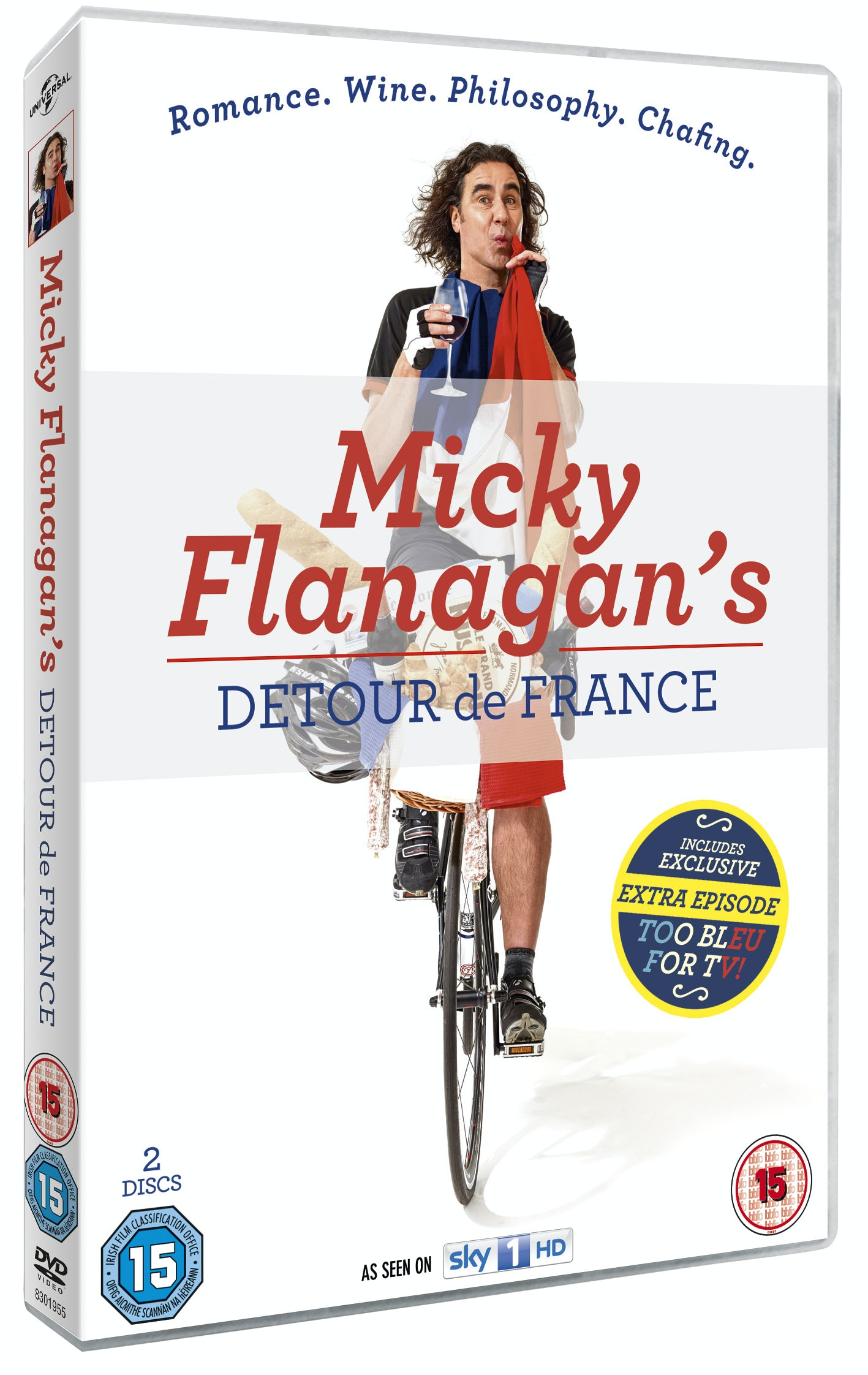 Micky Flanagan's Detour De France sweepstakes
