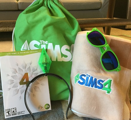 The Sims 4 Prize Package sweepstakes