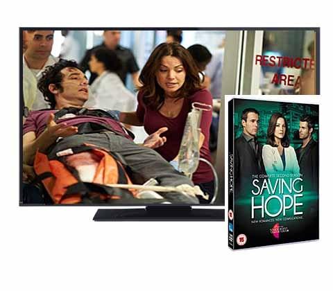 Win Saving Hope Season 2 DVD & widescreen TV sweepstakes