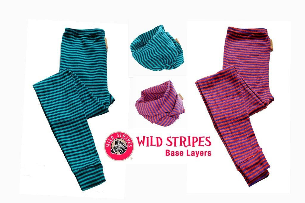 Win a pair of Wild Stripes Long Johns and a Neck Gaiter sweepstakes