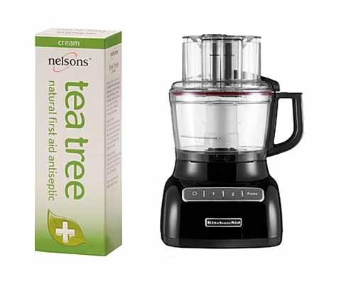Win 3 x KitchenAid food processor & Nelsons Tea Tree Cream sweepstakes