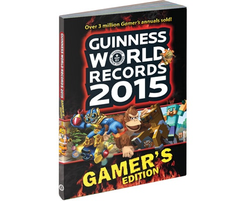 Guinness World Records 2015 Gamer Edition sweepstakes