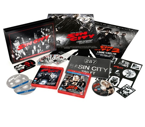 Win a limited edition deluxe Sin City 2 box set  sweepstakes