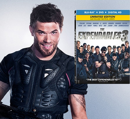Expendables 3 Signed by Kellan Lutz sweepstakes
