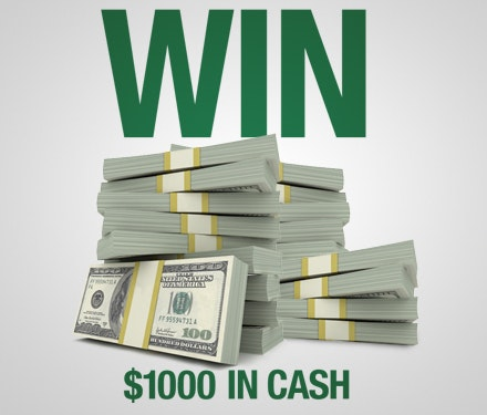 $1000 Cash December-January sweepstakes