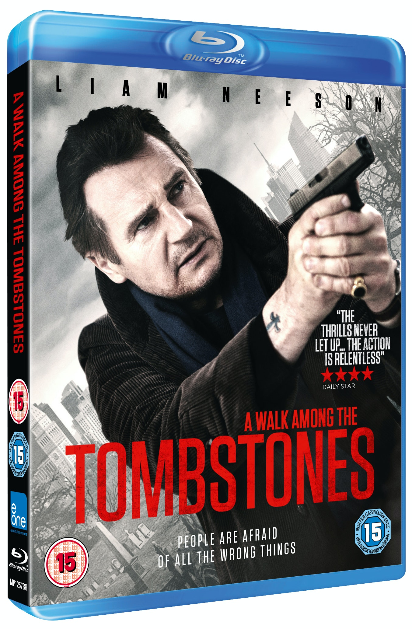 A Walk Amongst The Tombstones sweepstakes