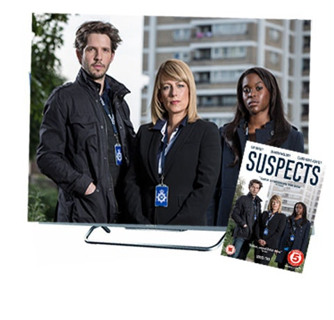 Sony 42in HD TV & Suspects Series Two on DVD sweepstakes