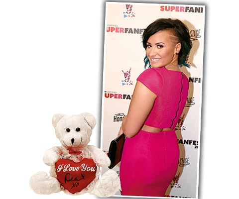 Demi Lovato Signed Bear sweepstakes