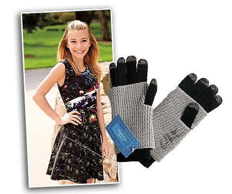 G. Hannelius' Signed Texting Gloves sweepstakes