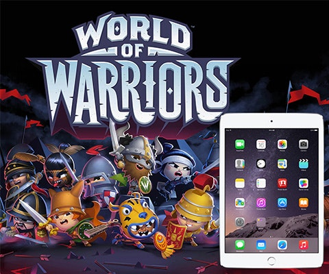 iPad Mini from World of Warriors sweepstakes