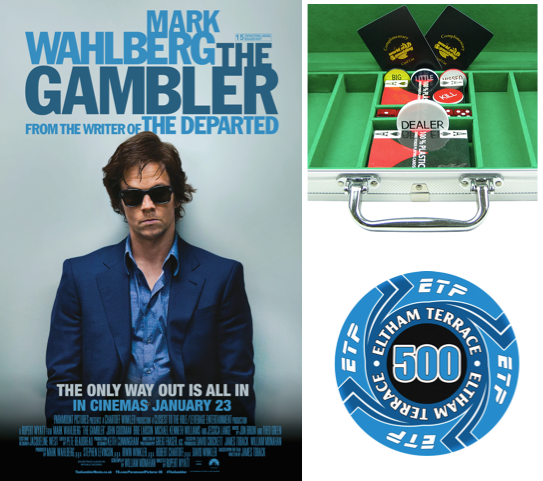 The Gambler! sweepstakes