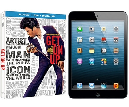 Get On Up and an iPad Mini sweepstakes