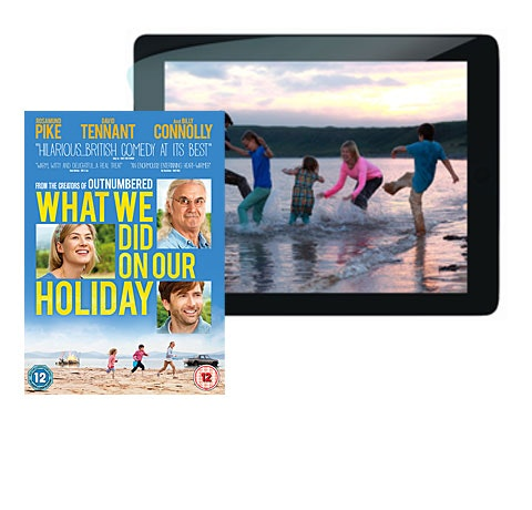 What We Did On Our Holiday DVD sweepstakes