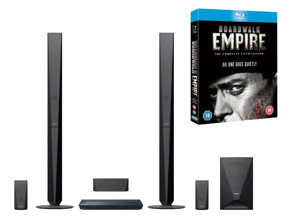 WIN BOARDWALK EMPIRE: THE COMPLETE FIFTH SEASON ON BLU-RAY + A BLU-RAY SURROUND SYSTEM sweepstakes