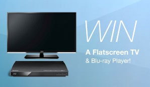 Lucy on Blu-ray & DVD, Flatscreen TV and Blu-ray Player sweepstakes