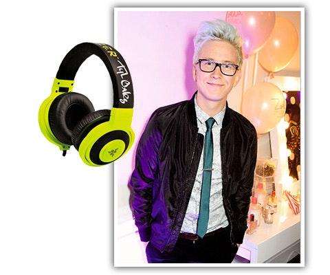 Tyler Oakley Signed Headphones sweepstakes