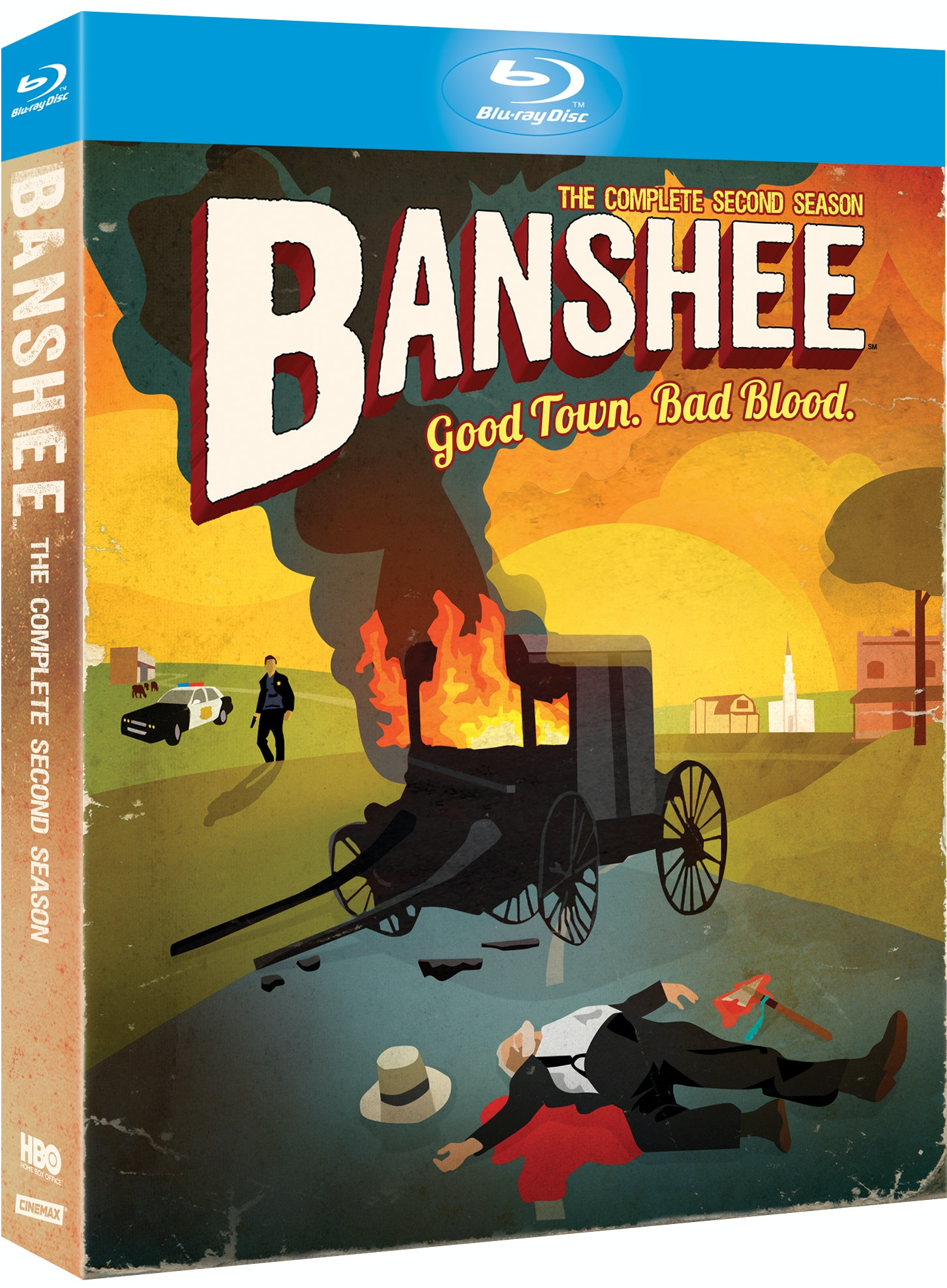 BANSHEE: THE COMPLETE SECOND SEASON sweepstakes