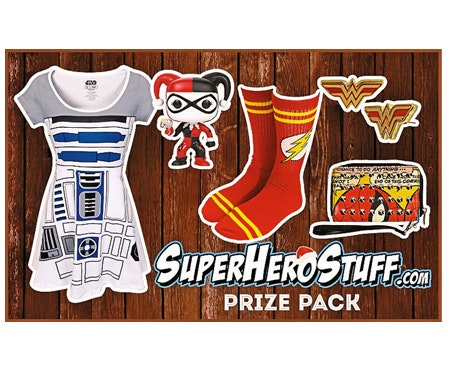 Superhero Style Prize Pack sweepstakes