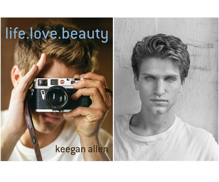 Keegan Allen Book LIFE.LOVE.BEAUTY sweepstakes