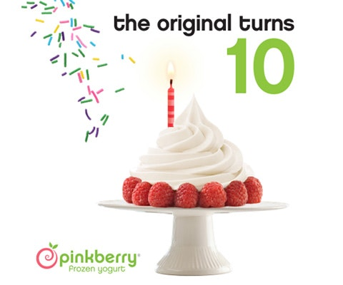 $20 Pinkberry Gift Card sweepstakes
