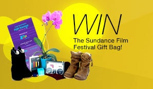 Kari Feinsteins Style Lounge 2015 Sundance Gift Bag sweepstakes