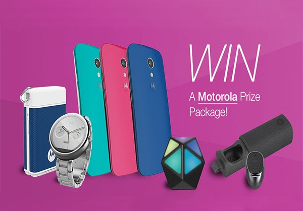 Motorola Prize Package sweepstakes