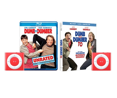Dumb and Dumber To Prize Package sweepstakes
