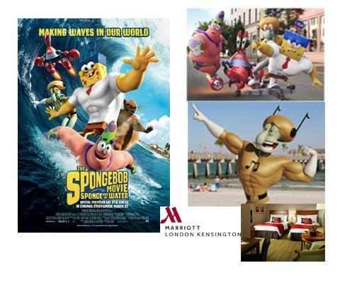 SpongeBob SquarePants sweepstakes