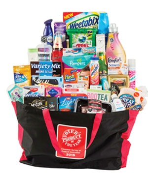 Win a Product of the Year goody bag sweepstakes