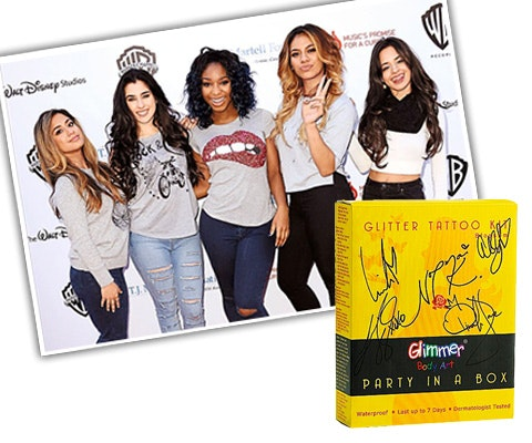 5H Signed Glitter Tattoos sweepstakes