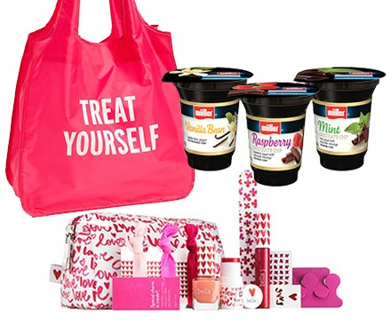 Treat Yourself Prize from Muller Yogurt sweepstakes