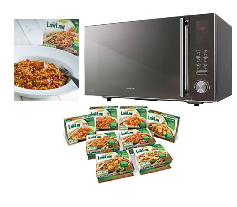 Win a Microwave oven & £50 of LowLow ready meals sweepstakes