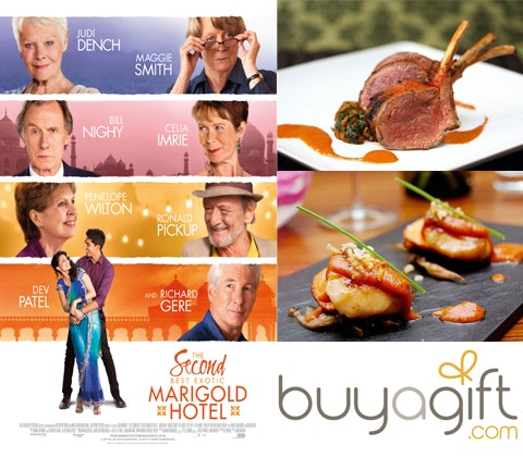 Win a Taste of India with The Second Best Exotic Marigold Hotel! sweepstakes