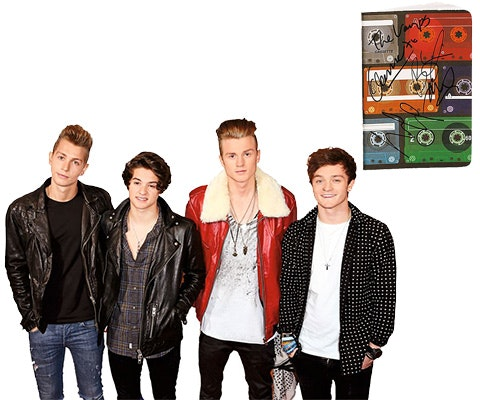 The Vamps Signed Notebook sweepstakes