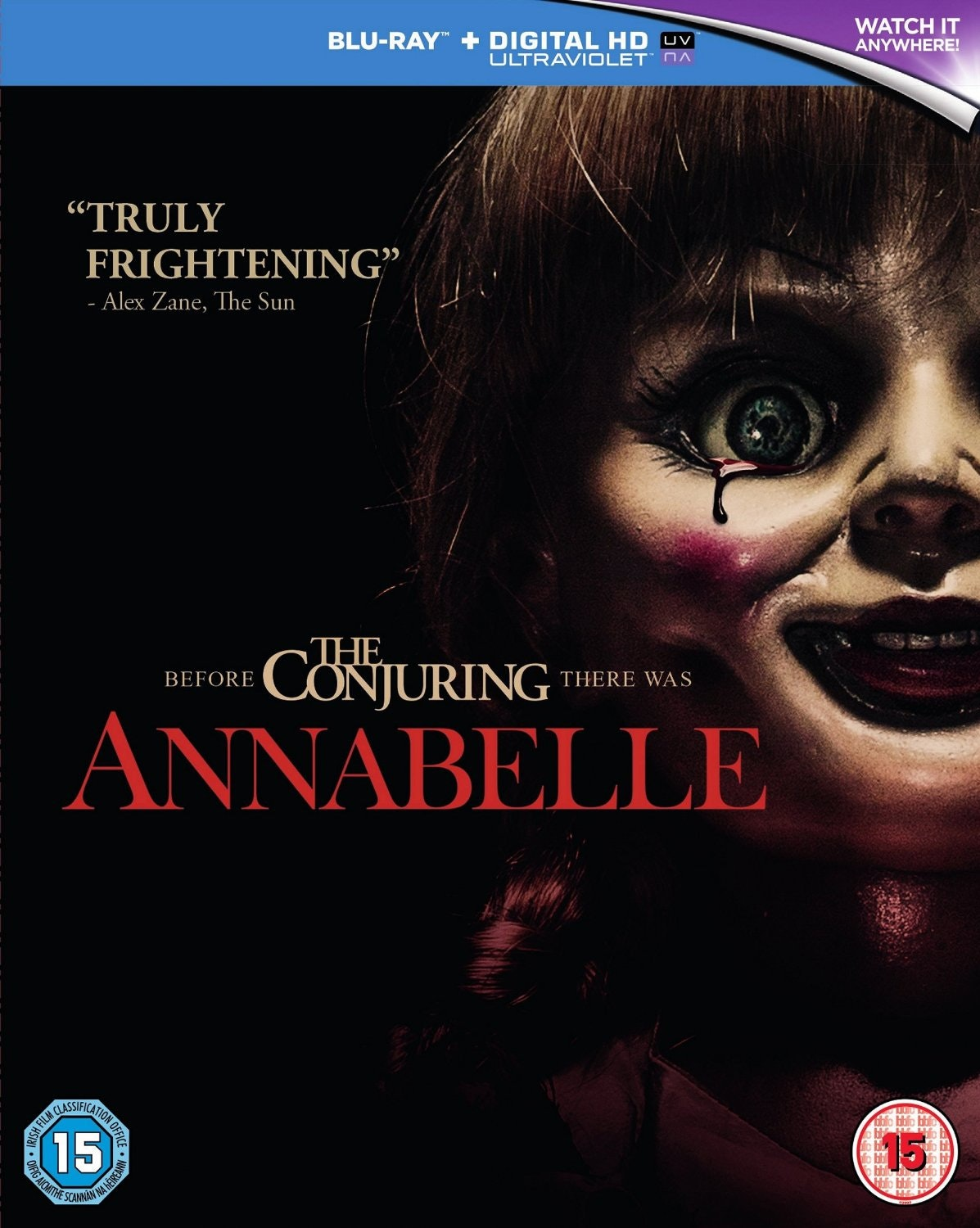 Annabelle Blu-ray  sweepstakes
