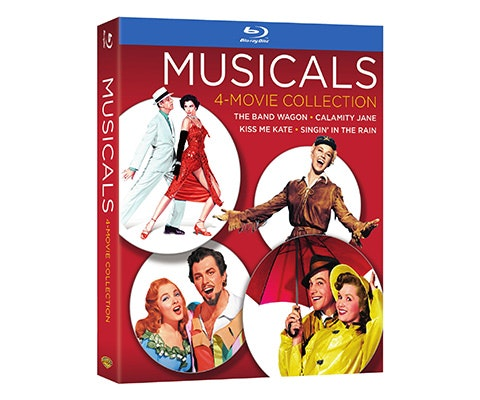 Warner Bros MUSICALS COLLECTION sweepstakes