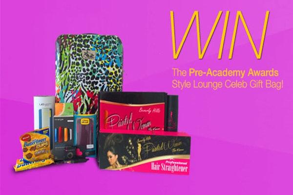 PreAcademy Awards Celeb Gift Bag sweepstakes