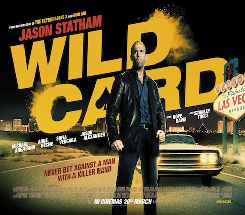WIN A JASON STATHAM BLU-RAY BUNDLE TO CELEBRATE THE RELEASE OF WILD CARD. sweepstakes