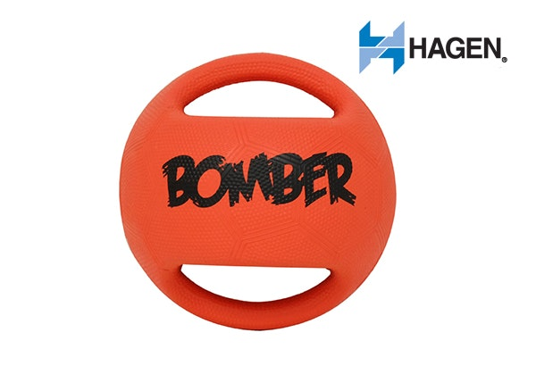 Zeus Bomber Dog Toy by Hagen sweepstakes