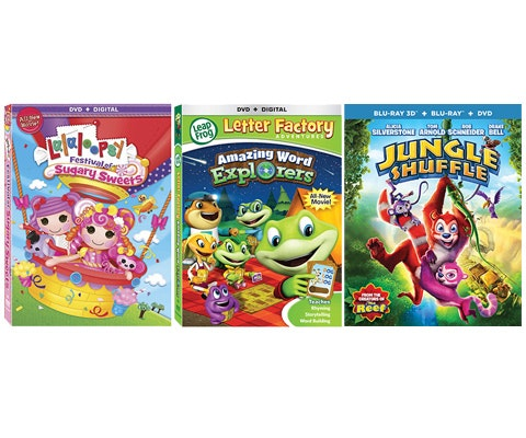 Fun for the Kids Movie Package sweepstakes
