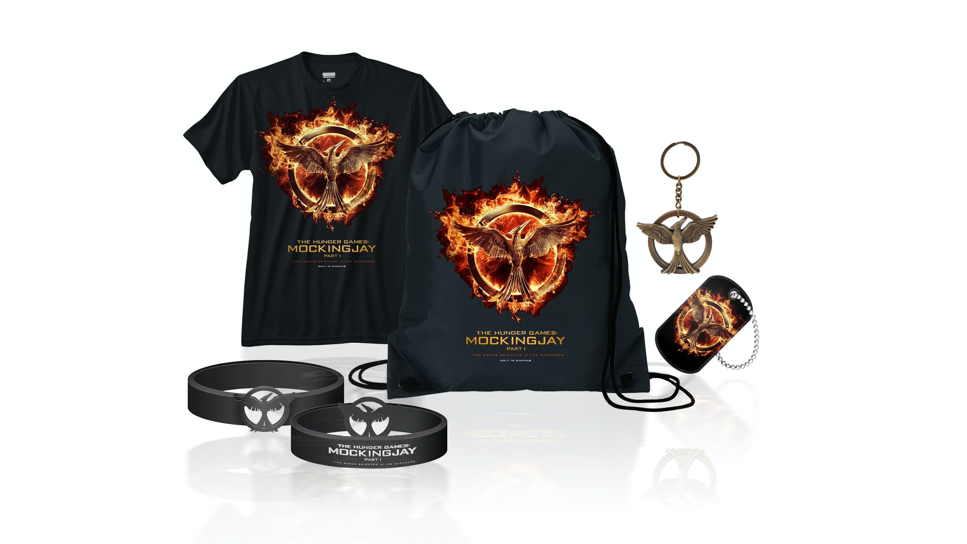 Mockingjay DVD and merchandise pack sweepstakes
